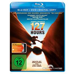 127 Hours (BD + DVD + Digital Copy) Blu-ray