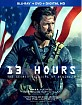 13 Hours: The Secret Soldiers of Benghazi (2016) (Blu-ray + Bonus Blu-ray + DVD + UV Copy) (US Import ohne dt. Ton) Blu-ray