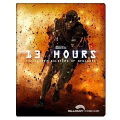 13 Hours: The Secret Soldiers of Benghazi - Steelbook (IT Import) Blu-ray