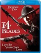 14 Blades (Region A - US Import ohne dt. Ton) Blu-ray