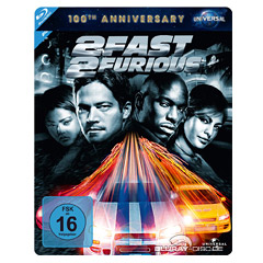 2 Fast 2 Furious (100th Anniversary Steelbook Collection) Blu-ray