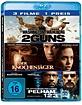 2 Guns + Der Knochenjäger + Die Entführung der U-Bahn Pelham 123 (3-Film-Set) Blu-ray