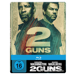2 Guns - Limited Edition Steelbook (Blu-ray + UV Copy) Blu-ray