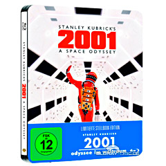2001 - Odyssee im Weltraum (Limited Edition Steelbook) Blu-ray