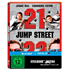 21 Jump Street + 22 Jump Street (Doppelset) (Limited Edition Steelbook) (Blu-ray + UV Copy) Blu-ray