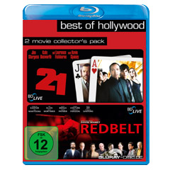 21 & Redbelt (Best of Hollywood Collection) Blu-ray