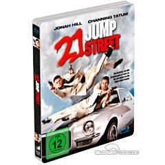 21 Jump Street (2012) - Limited Edition Steelbook Blu-ray