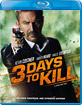 3 Days to Kill - Theatrical and Extended Cut (Blu-ray + DVD) (Region A - CA Import ohne dt. Ton) Blu-ray