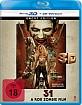 31 (2016) 3D (Blu-ray 3D) Blu-ray