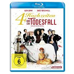 4 Hochzeiten und ein Todesfall (Digital Remastered) Blu-ray