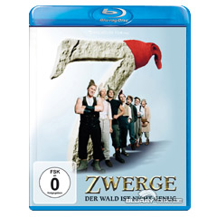 7 Zwerge: Der Wald ist nicht genug Blu-ray