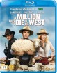 A Million Ways to Die in the West (2014) (NO Import) Blu-ray