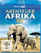 Abenteuer Afrika 3D (Blu-ray 3D) Blu-ray