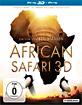 African Safari (2013) 3D (Blu-ray 3D) Blu-ray