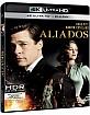 Aliados 4K (4K UHD + Blu-ray) (ES Import) Blu-ray