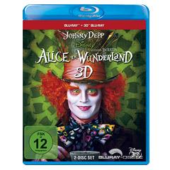 Alice im Wunderland (2010) 3D (Blu-ray 3D) Blu-ray