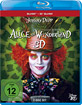 Alice im Wunderland (2010) 3D (B ... Blu-ray