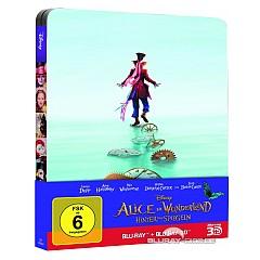 Alice im Wunderland: Hinter den Spiegeln 3D (Limited Steelbook Edition) (Blu-ray 3D + Blu-ray) Blu-ray