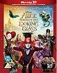 Alice Through the Looking Glass 3D (Blu-ray 3D + Blu-ray) (UK Import) Blu-ray