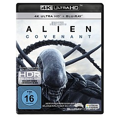 Alien: Covenant 4K (4K UHD + Blu-ray) Blu-ray