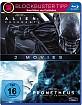 Alien: Covenant + Prometheus - Dunkle Zeichen (2-Film Set) Blu-ray