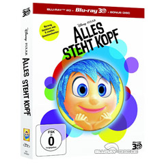 Alles steht Kopf 3D (Limited Edition) (Blu-ray 3D + Blu-ray + Bonus Blu-ray) Blu-ray
