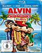 Alvin und die Chipmunks 3 - Chipbruch (Blu-ray + DVD + Digital Copy) Blu-ray