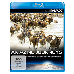 Amazing Journeys - Nature's Greatest Migrations (Seen on IMAX Edition) Blu-ray