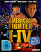 American Fighter I-IV (4-Disc Box) Blu-ray