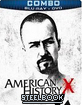 American History X - Steelbook (BD+DVD Combo Pack) (CA Import ohne dt. Ton) Blu-ray
