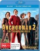 Anchorman 2: The Legend Continues (Blu-ray + Bonus Blu-ray) (AU Import ohne dt. Ton) Blu-ray