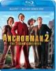 Anchorman 2: The Legend Continues (Blu-ray + Bonus Blu-ray) (FI Import) Blu-ray