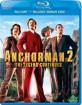 Anchorman 2: The Legend Continues (Blu-ray + Bonus Blu-ray) (NO Import) Blu-ray