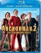 Anchorman 2: The Legend Continues (Blu-ray + Bonus Blu-ray) (SE Import) Blu-ray