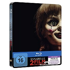 Annabelle (2-Film Collection) (Limited Steelbook Edition) (2 Blu-ray + UV Copy) Blu-ray