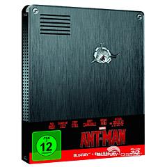 Ant-Man (2015) 3D (Limited Edition Steelbook) (Blu-ray 3D + Blu-ray) Blu-ray