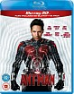 Ant-Man (2015) 3D (Blu-ray 3D + Blu-ray + UV Copy) (UK Import ohne dt. Ton) Blu-ray