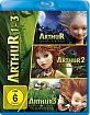 Arthur und die Minimoys 1-3 (Neuauflage) Blu-ray