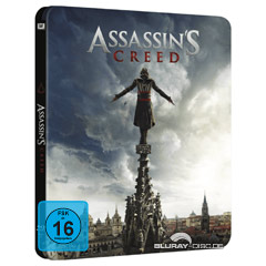Assassin's Creed (2016) (Limited Steelbook Edition) Blu-ray
