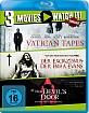 At the Devil's Door (2014) + Der Exorzismus der Emma Evans + The Vatican Tapes (3-Disc Set) Blu-ray