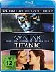 Avatar - Aufbruch nach Pandora 3D + Titanic (1997) 3D (Doppelset) (Blu-ray 3D) Blu-ray