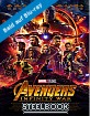 Avengers: Infinity War 3D - Limited Edition Steelbook (Blu-ray 3D + Blu-ray) (CH Import) Blu-ray