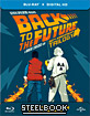 Back to the Future Trilogy - Zavvi Exclusive Limited Edition Steelbook (UK Import) Blu-ray
