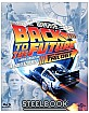 Back to the Future: 30th Anniversary Trilogy Full Slip Steelbook (TW Import ohne dt. Ton) Blu-ray