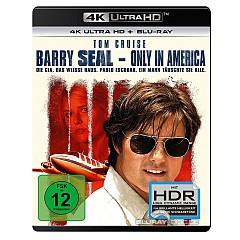 Barry Seal - Only in America 4K (4K UHD + Blu-ray + UV Copy) Blu-ray