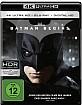 Batman Begins 4K (4K UHD + Blu-ray + Bonus Blu-ray + UV Copy) Blu-ray