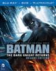 Batman: The Dark Knight Returns - Part 1+2 - Deluxe Edition (Blu-ray + DVD + UV Copy) (CA Import) Blu-ray