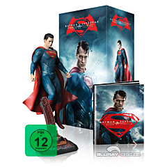 Batman v Superman: Dawn of Justice (2016) 3D - Kinofassung und Director's Cut (Ultimate Collector's Edition Superman Figur) Blu-ray
