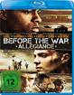 Before the War - Allegiance Blu-ray