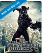 Black Panther (2018) 3D - Limited Edition Steelbook (Blu-ray 3D + Blu-ray) (ES Import ohne dt. Ton) Blu-ray